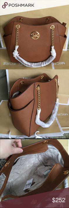 Michael Kors Bag 100% Authentic Michael Kors Tote Shoulder Bag, brand new with tag!.color Brown. Michael Kors Bags Shoulder Bags