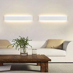 Vegglamper / Baderomslys LED Moderne/ Samtidig Metall 2016 – €83.29