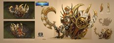 ArtStation - Basilisk-concept for Dungeon Hunter Champions, Xuexiang Zhang