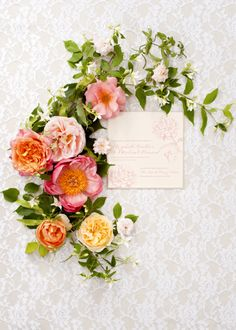 I wish I had thought to do this with C's wedding invitation on a table in the church foyer (Holly Chapple)