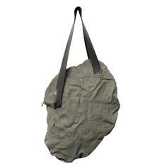 FLAT M - www.mymist.it - gray shoulder leather bag