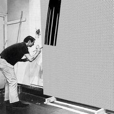 Lichtenstein's studio part 2 gif by Sketchaganda Roy Lichtenstein Pop art