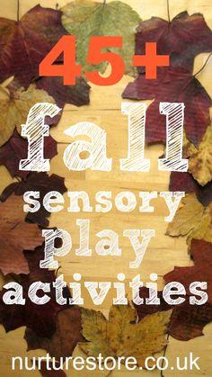 over 45 fall sensory activities.
