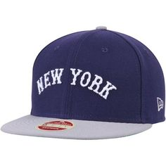 8c36b5a8670e0 Men s New York Yankees New Era Navy Cooperstown Collection Secondary Side  9FIFTY Structured Hat