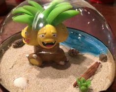 Small Figure Pokemon Terrarium Choice of by PopCultureChristmaCo