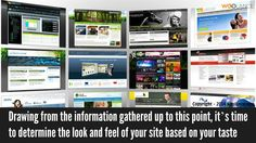 Drawing from the information gathered up to this point, it's time to determine the look and feel of your site based on your taste - Woolance #Webdesign https://www.woolance.com/service/website-and-software-and-development