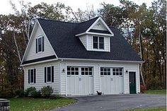 24x28 2 car garage with loft