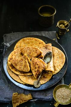 Til Gud Poli is a sweet Indian flatbread made from jaggery and sesame.
