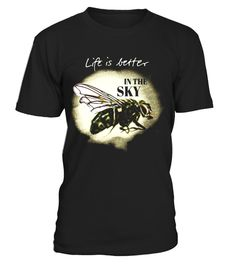 "# Life Is Better In The Sky T-Shirt Flying Airplane Pilot Gift .  Special Offer, not available in shops      Comes in a variety of styles and colours      Buy yours now before it is too late!      Secured payment via Visa / Mastercard / Amex / PayPal      How to place an order            Choose the model from the drop-down menu      Click on ""Buy it now""      Choose the size and the quantity      Add your delivery address and bank details      And that's it!      Tags: Life Is Better In The…"