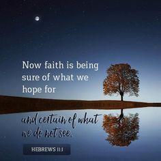 Hebrews 11:1- | PRAISE 106.5 - Uplifting & Encouraging
