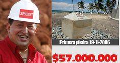 La piedra que Chavez compró por 57 millones de dólares  http://www.facebook.com/pages/p/584631925064466