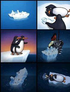 Titanic (penguin version)