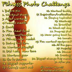 Fitness photo challenge
