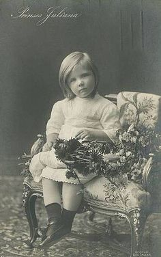 Young Princess Juliana of the Netherlands