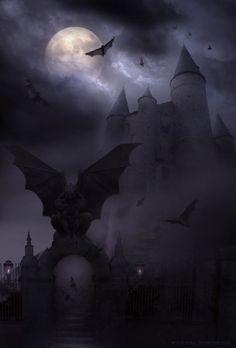 Psycho path готика,фентези halloween art, gothic horror и dark gothic. Dark Fantasy, Fantasy World, Fantasy Art, Gothic Horror, Arte Horror, Horror Art, Halloween Imagem, Halloween Art, Gothic Halloween