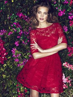 Natalia Vodianova Gets Preppy Then Sexy For Etam Spring '11