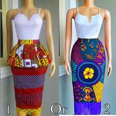 2019 Cute and Lovely Ankara Styles - Naija's Daily African Wear Dresses, Latest African Fashion Dresses, African Inspired Fashion, African Print Fashion, Africa Fashion, African Attire, Nigerian Outfits, Style Africain, Trendy Ankara Styles