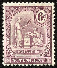 Big Blue 1840-1940: St. Vincent and a look at runaway stamp production