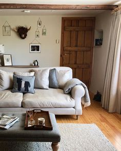 Coming in from a lovely long countryside amble, what could be better than kicking off the wellies and plonking down on Crumpet sofa. Living Room Designs, Living Room Decor, Living Rooms, Sofas, Couches, Crumpets, Decoration, New Homes, Cushions