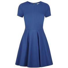 Diane von Furstenberg Ivana Fit and Flare Dress found on Polyvore