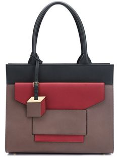 PIERRE HARDY 'Jane' Tote. #pierrehardy #bags #leather #hand bags #tote #