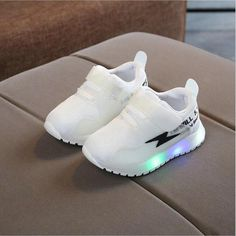 Kid LED Sneakers For Boys Girls Sport Running Shoes Price: 20.99$ Discount ending in next 24 hours. Baby Clothes Online, Cute Baby Clothes, Baby Boy Shoes, Boys Shoes, Toddler Shoes, Toddler Girl, Baby Sneakers, Designer Kids Clothes, Boy Fashion