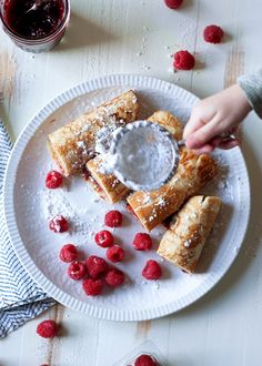 Swedish Pancakes recipe - Just 5 simple ingredients and you're on your way to real Swedish pancakes. Rich, tender, & totally delicious with a smear of butter and jam. (Non-dairy option) Perfect to make with kids! ​#cookingwithparents