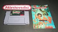 Disney's Jungle Book Super Nintendo game! Free Shipping! Loved this!!! can Never find it :(