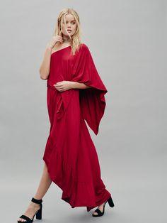 F p maxi dress overlay