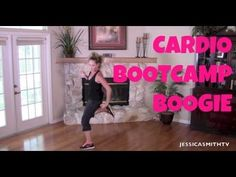 Get a great cardio workout at home without the treadmill with this calorie and fat burning aerobic workout. Join certified instructor Jessica Smith for thi Jessica Smith, Cardio Workout At Home, At Home Workouts, Cardio Fitness, Cardio Workouts, Aerobic Fitness, Walking Workouts, Post Workout, Fitness Video