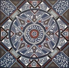 'Kindness' Mandala 96 Art from SA Lize Beekman