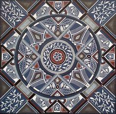 'Kindness'  Mandala 96 Art from SA Lize Beekman