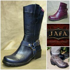 Jafa Shoes and Boots from Israel - BarkingDogShoes.com