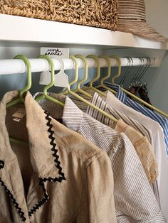 Use garment organizers to separate your clothes into categories that work for you - seasons, occasions, type of item, etc. | 17 Invaluable Tips For Anybody With Too Many Clothes