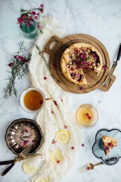 Ashleigh Amoroso Photography // mixed berry tart