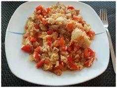 Reis mit Minutensteak und Paprika. http://apps.facebook.com/berndes-rezepte