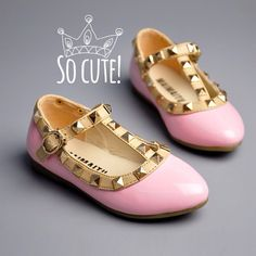 How cute are these Valentino inspired Flats? Anyone else interested for their kiddies? #scoutfashion #londonScout #Scoutthecity