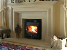 Hand-made cast and natural stone fireplaces, flooring and other home-ware. Log Burner Fireplace, Cast Stone Fireplace, Natural Stone Fireplaces, Fireplace Update, Fireplace Hearth, Fireplace Remodel, Wood Burner, Fireplace Design, Fireplace Surrounds