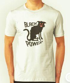 Black Power - with black cat