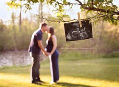 Cute maternity photo
