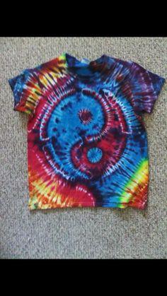 60b7bd27ec3 Yin-yang Tie-dye by Yano Harris. Traci Gibson · Grateful Dead
