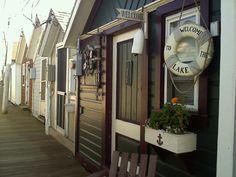 Canandaigua, NY pier boat houses