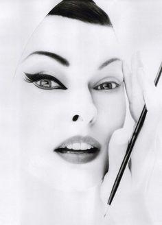 Linda Evangelista by Steven Meisel, W Magazine, September 2011.