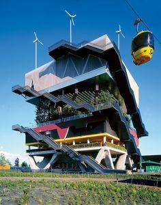 Hannover, Pavillion Netherlands by MVRDV Gothic Architecture, Amazing Architecture, Contemporary Architecture, Landscape Architecture, Interior Architecture, Contemporary Houses, Pavilion Architecture, Organic Architecture, Residential Architecture