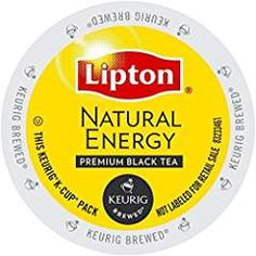 Lipton K-Cup Portion Pack for Keurig Brewers, Natural Energy Premium Black Tea, 24 count.. >>> See this great product. We are a participant in the Amazon Services LLC Associates Program, an affiliate advertising program designed to provide a means for us to earn fees by linking to Amazon.com and affiliated sites.