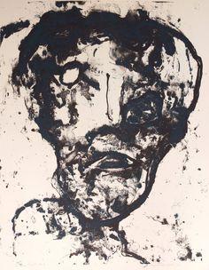 George McNeil, 'Cigaret Head,' 1971, Acme Fine Art