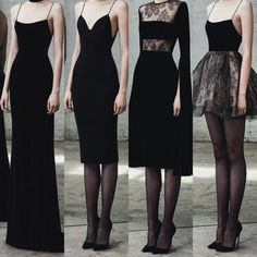 Spaghetti Straps black prom dress long/short evening dress simple party dress 2019 new fashion show(Offer four styles) - Dresses Fashion Sexy Dresses, Beautiful Dresses, Fashion Dresses, Prom Dresses, Evening Dress Long, Evening Dresses, Simple Party Dress, Simple Black Dress, Classic Black Dress