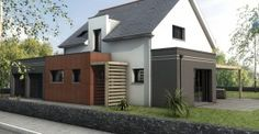 Maison contemporaine Orvault petit Chantilly 44