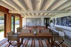 Residência RW (Búzios, 2008) / Bernardes + Jacobsen Arquitetura (Arquitetura) / Toninho Noronha Arquitetura (Interiores) #jantar #dining