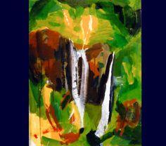 Acrylique Les 3 cascades